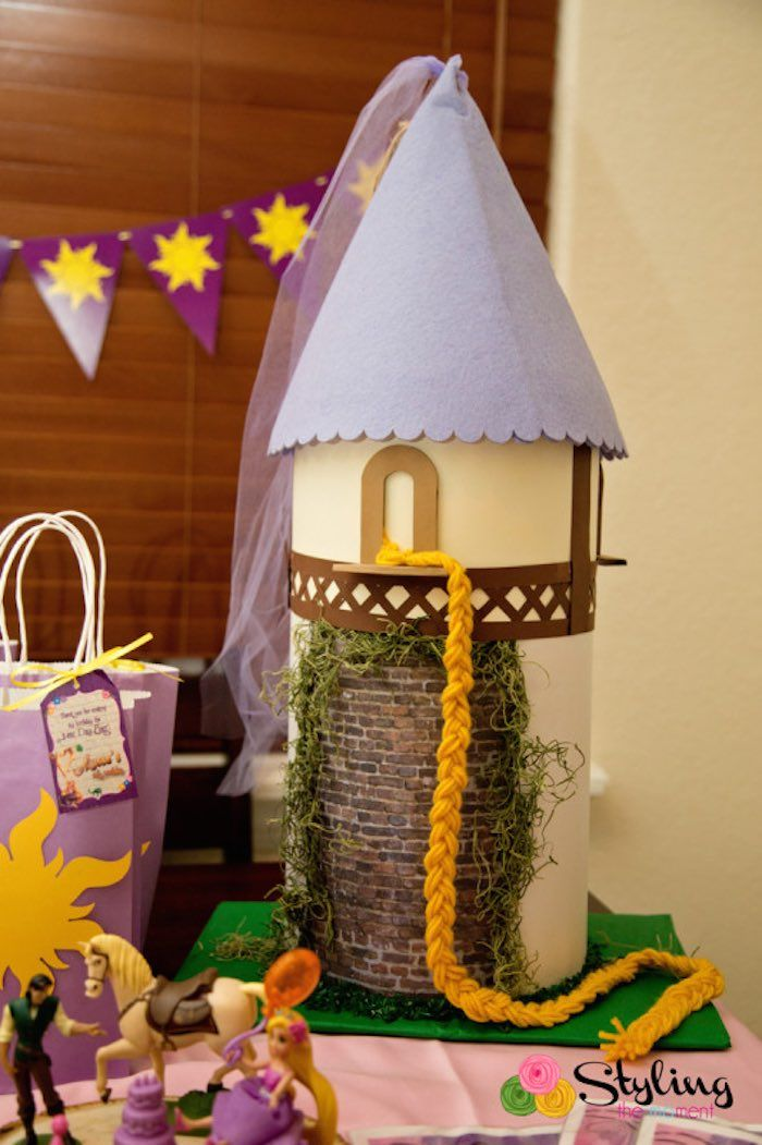 Rapunzel Tangled Birthday Party Ideas | Tangled + Rapunzel Birthday Party via Kara's Party Ideas ...