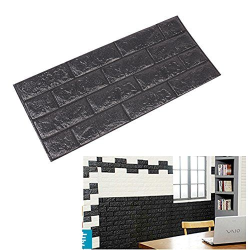 Sealands D Brick PE Foam Wall Sticker Pattern Wallpaper Bedroom - Instructions on how to put up a wall sticker