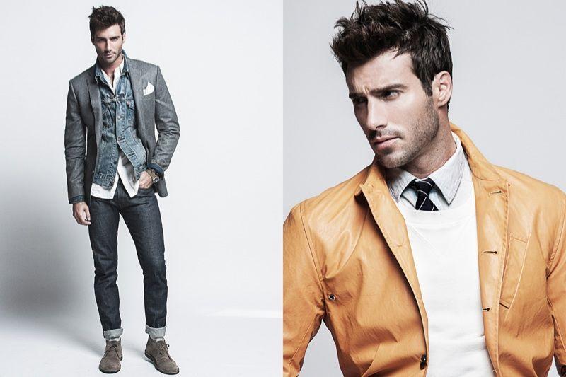 Fashion 4 men: JUSTIN THOMAS CLYNES