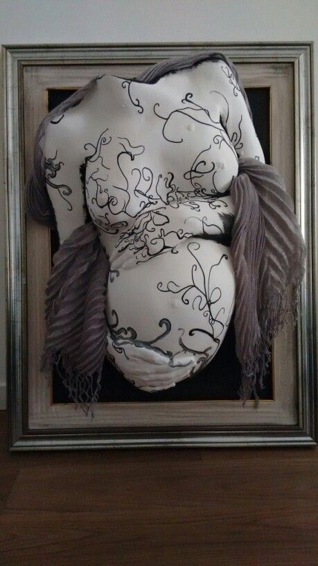 Belly casting calco gravidanza alginato pinterest for Calco con alginato