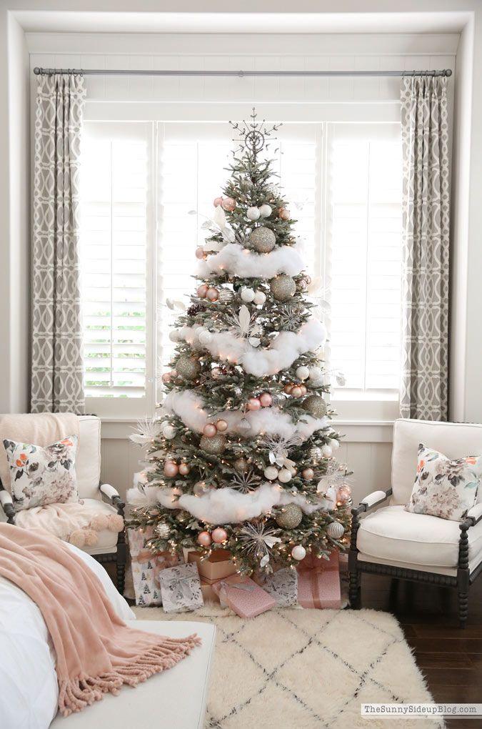 Master Bedroom Christmas Decor Sunny Side Up Home Noel