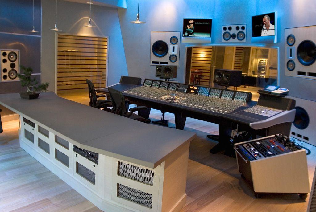 Fm Design Private Recording Studio Portfolio With Images Music