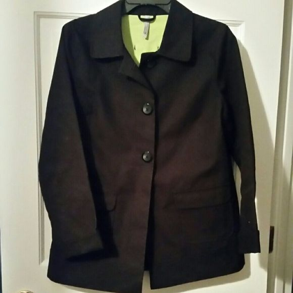 Old Navy black all weather jacket medium Perfect condition Old Navy black jacket with 3 button front - size medium Old Navy Jackets & Coats Blazers