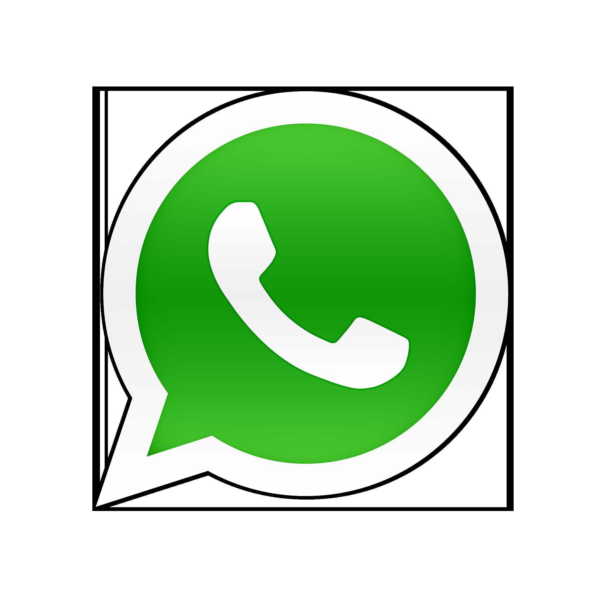 Resultado de imagen de icono whatsapp sin fondo