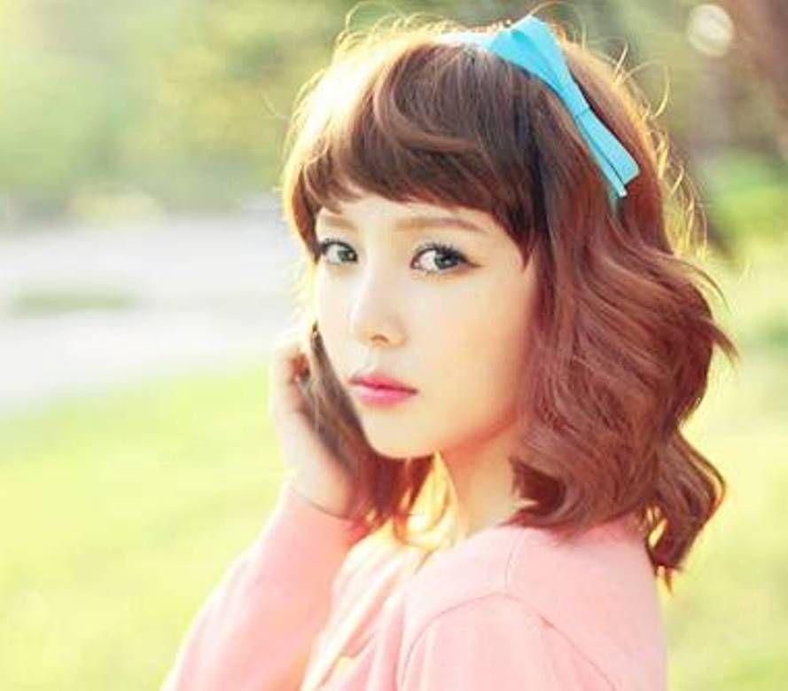 Medium Length Hair Korean Style (With images) | Medium length hair styles, Hair lengths, Korean ...
