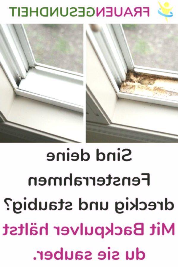 Sind deine Fensterrahmen dreckig und staubig? Mit Backpulver hältst du sie saub... - Susanne Sembritzki -