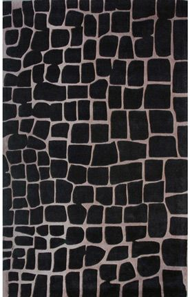 crocodile black rug, $339