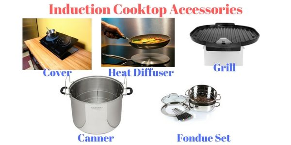 5 Must Have Induction Cooktop Accessories For Your Kitchen Induction Cooktop Cooktop Induction
