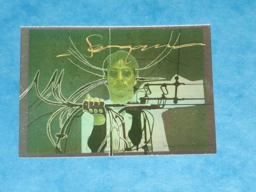 Hajime Sorayama Autographed Ltd Edition Card From Comic Images Supreme Cards San Diego Comic Con Comics Cards