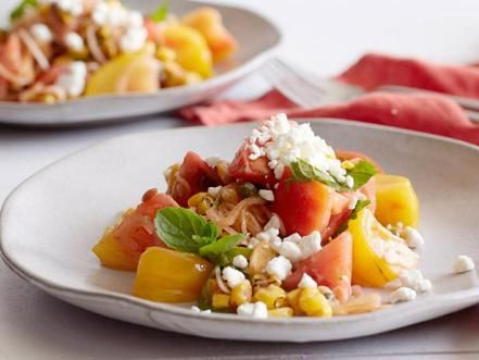 Summer cookout salad recipes food network make classic summer salads from food network chefs like potato salad pasta salad forumfinder Choice Image