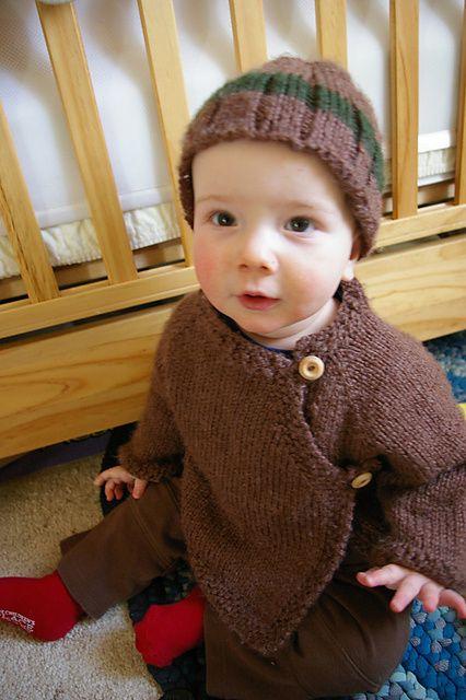 Easy Baby Boy Raglan Sweater | Baby knitting, Knitting for ...