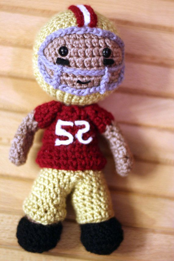Crochet Football Player Pattern   gute Ideen und Ideen