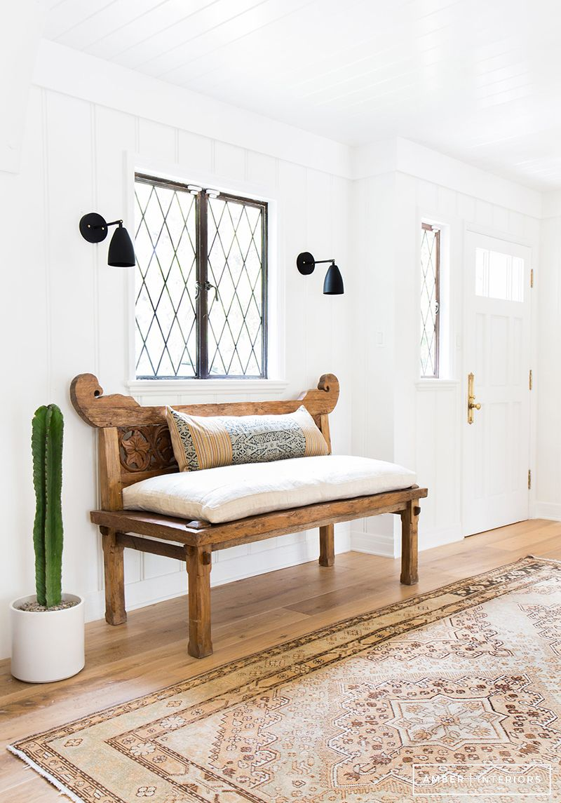 in review arq pinterest amber interiors and entryway bench