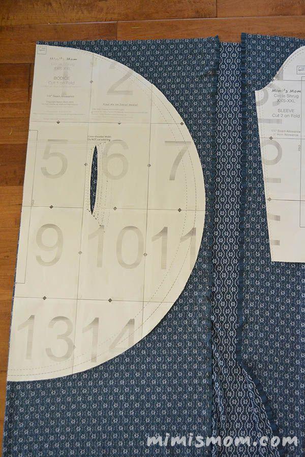 Circle Shrug Free Pattern | Círculos y Patrones