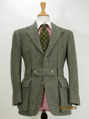 Like Nw Custom Polo Ralph Lauren Tweed Norfolk Shooting Sport Coat 36 37 S Vintage Mens Fashion Formal Mens Fashion Mens Fashion Classic