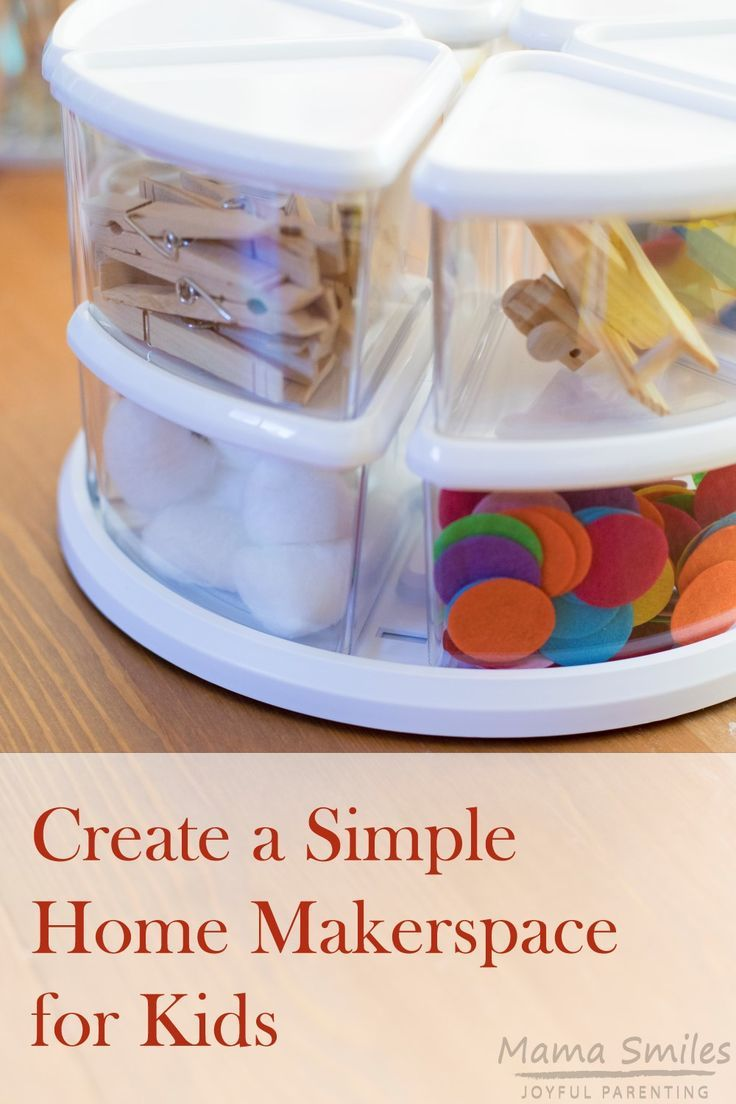 Inspiring Creativity With A Simple Home Makerspace All Things Kids