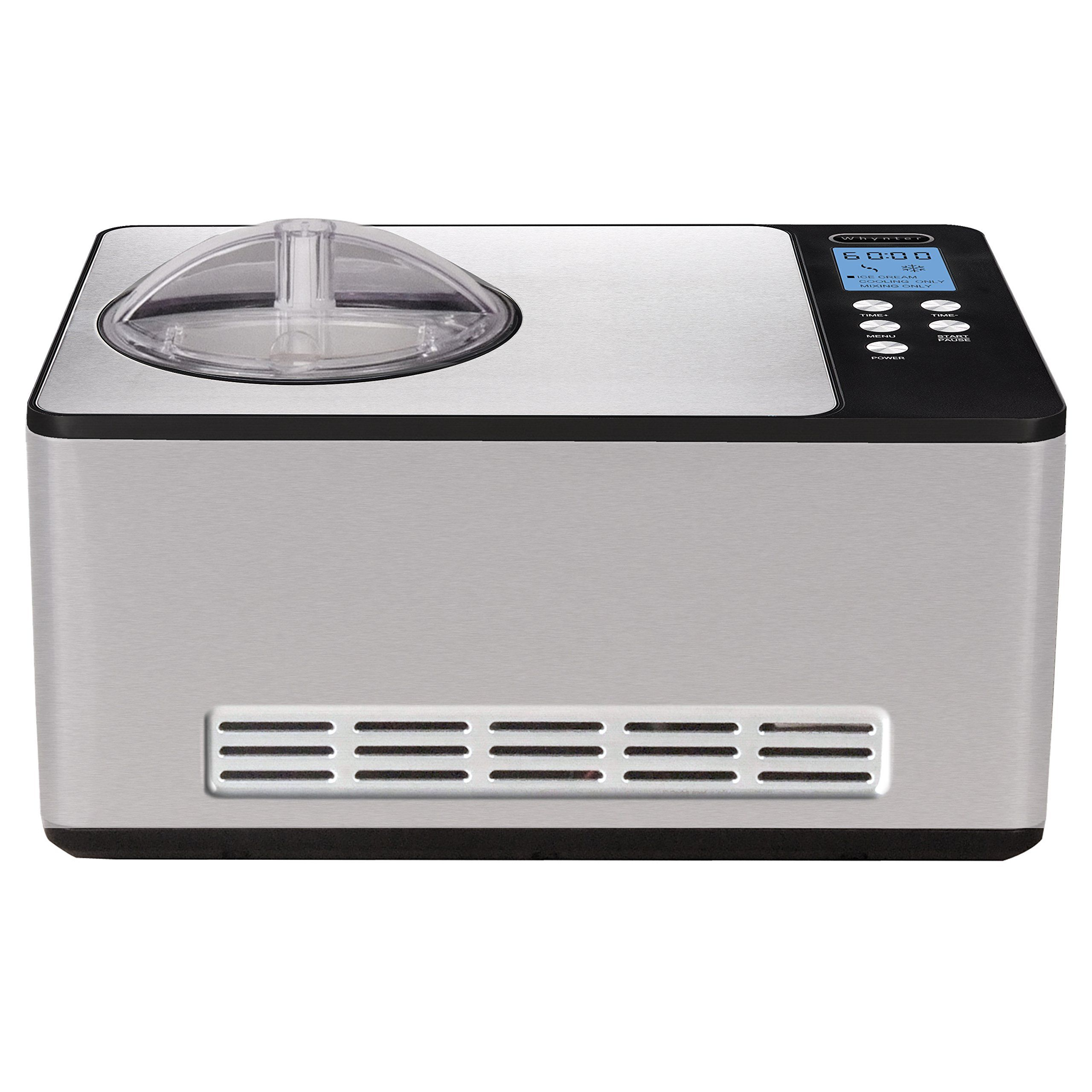 Whynter ICM200LS Stainless Steel Ice Cream Maker 2.1Quart ...