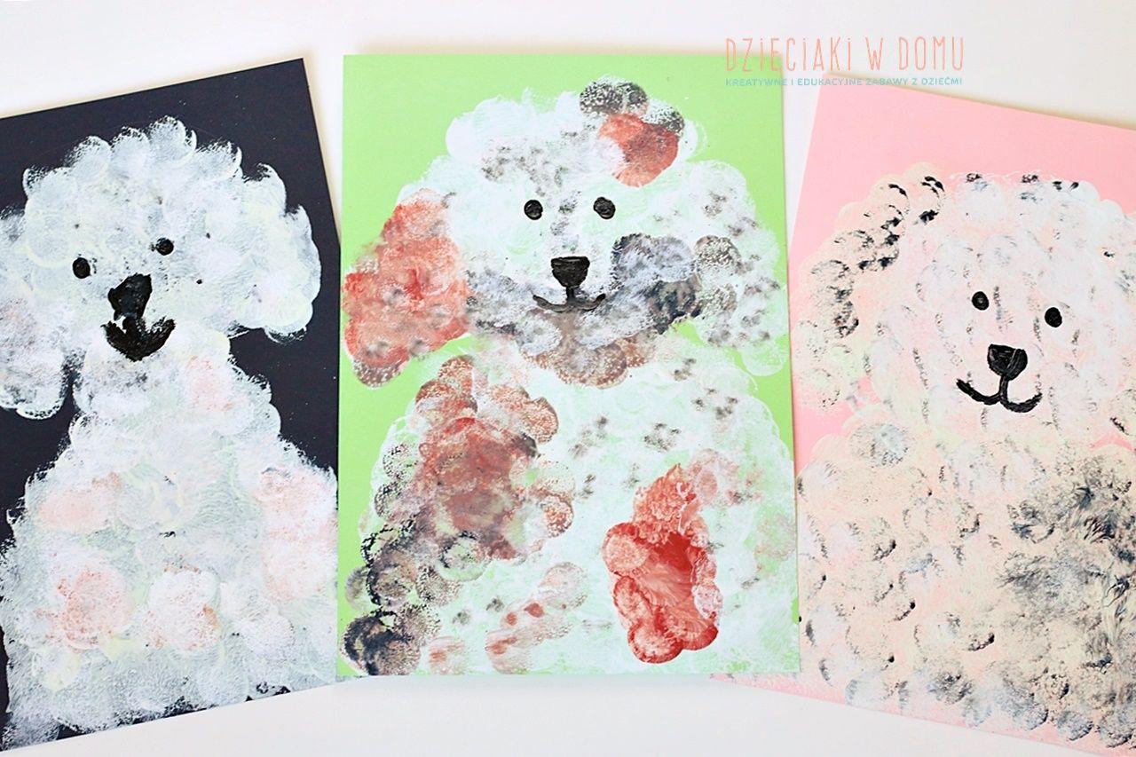 Pieski Prosta Praca Plastyczna Dla Dzieci Dzieciaki W Domu Animals Teddy Bear Teddy