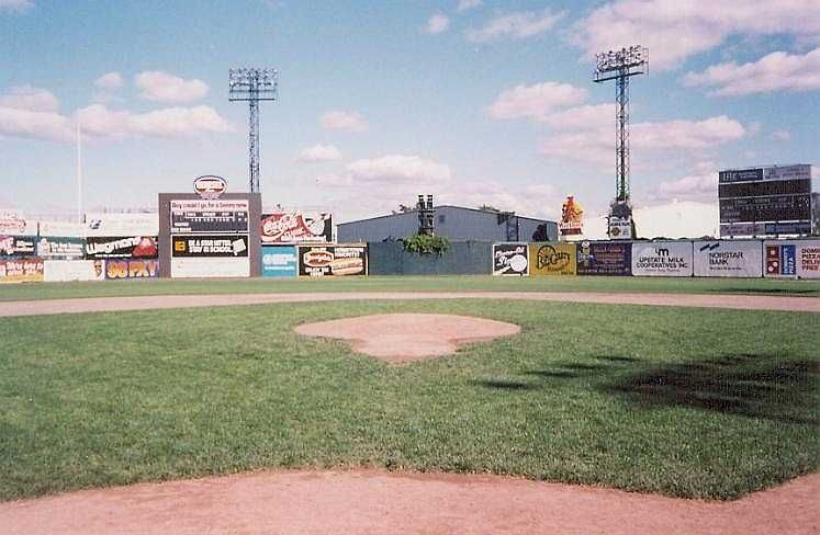1989 Silver Stadium Looking At Center Field From Home Plate Baseball Stadium Stadium Field