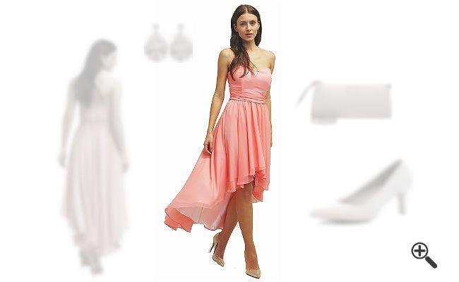 Kleider hinten lang vorne kurz + 3 Party Outfit... http://www ...