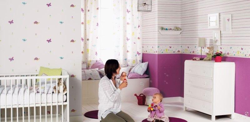 fantasyroom babyzimmer und kinderzimmer in lilaflieder einrichten und gestalten kinderzimmerideen - Kinderzimmer Einrichte Madchen