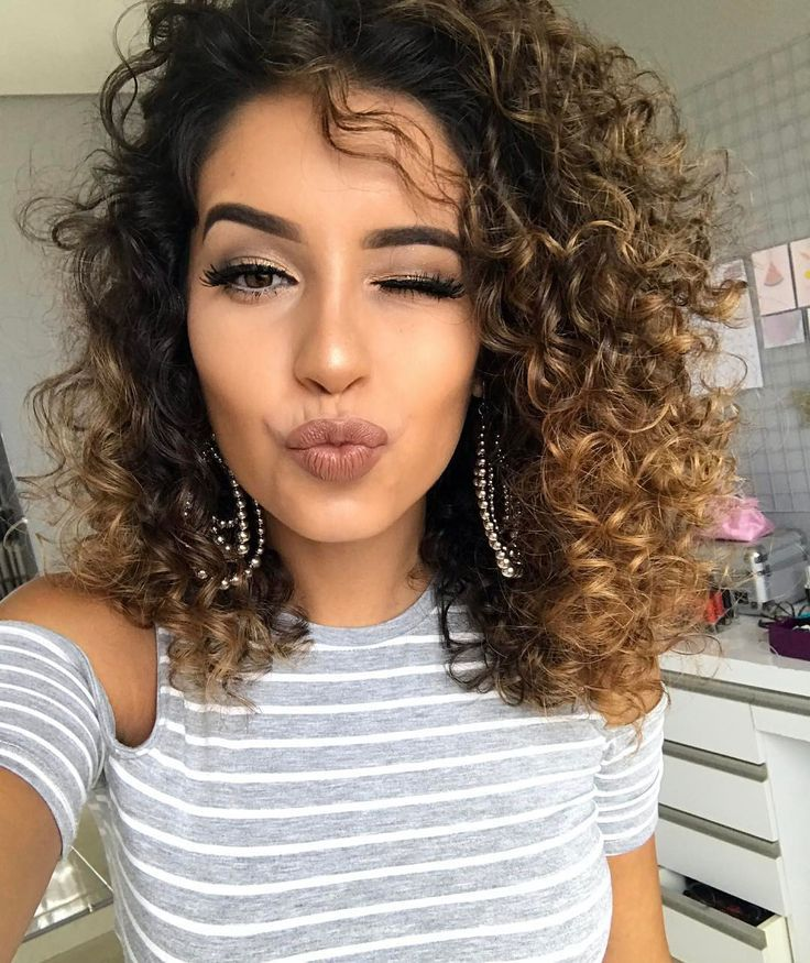 image result for hairstyles for naturally curly hair