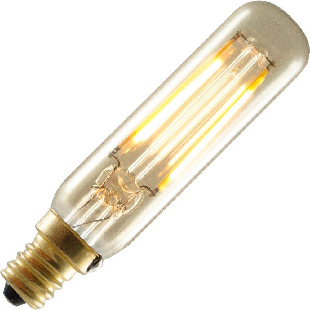 Bulbrite 2w Led Vintage Filament Style T6 Candelabra Base Candelabra Vintage Edison Bulbs Bulbrite