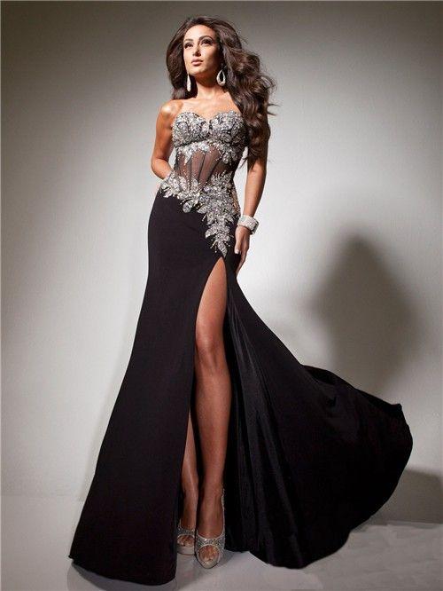 hemsandsleeves.com long black dresses (11) #cutedresses | Dresses ...