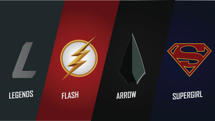 Dceu The Cw Tv Shows Wallpaper Pack By Godsnotdead88123 Flash Wallpaper Dc Tv Shows Flash Arrow