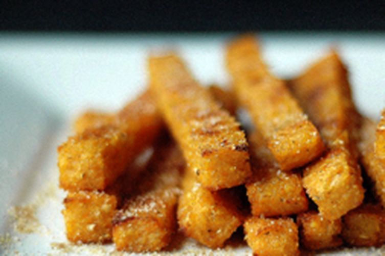 Baked Sweet Potato Polenta Fries recipe on Food52
