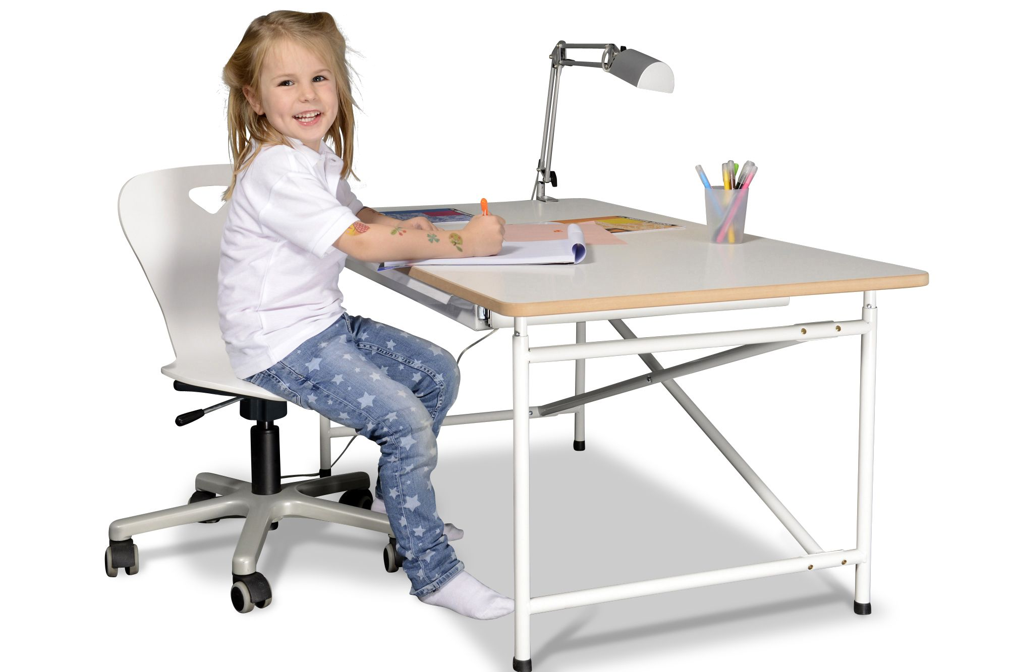 Schreibtisch Kinto By Salto 90cm X 68cm Hohenverstellbar Kinder