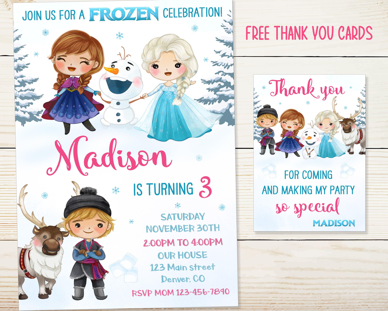 frozen elsa anna personalised birthday