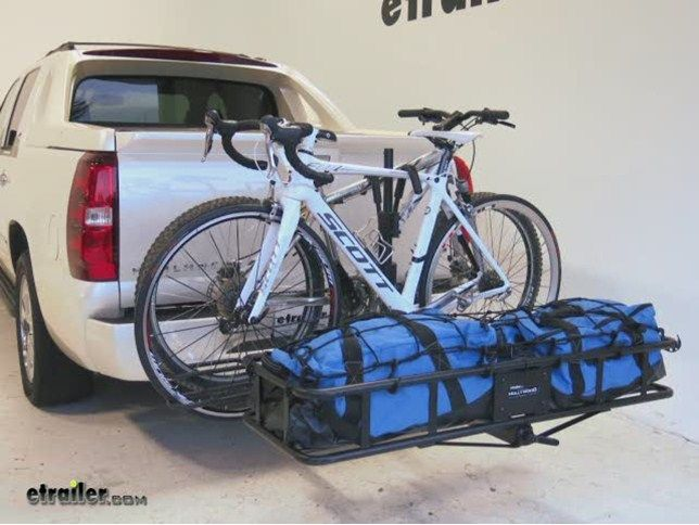 Hollywood Racks Sport Rider Se2 Platform Bike Rack W Cargo Carrier 2 Hitches Frame Mount Holly Bike Rack Hitch Bike Rack Bike