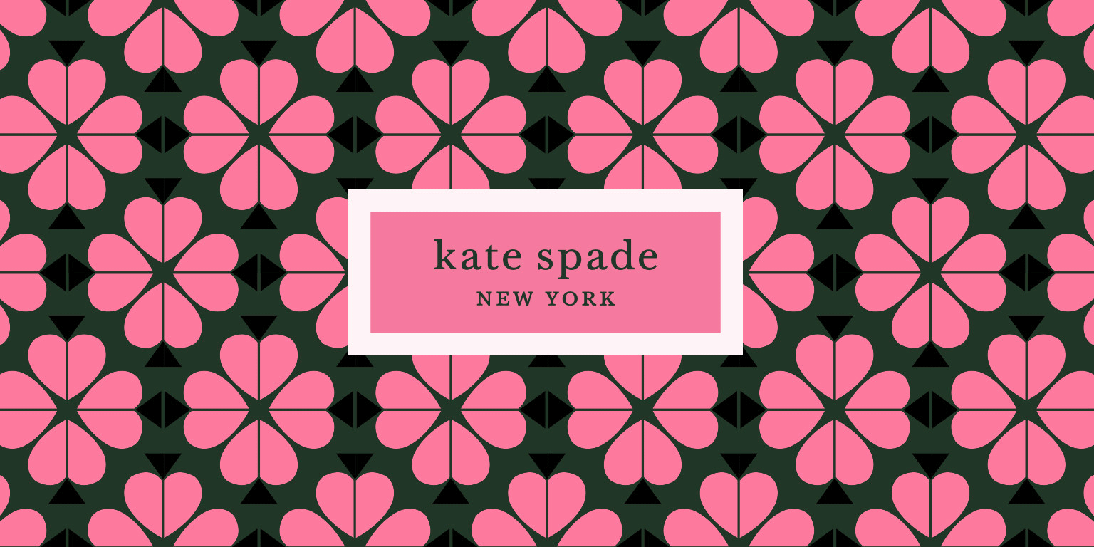 New Logo And Identity For Kate Spade Kate Spade Wallpaper Kate Spade Brand Kate Spade Instagram