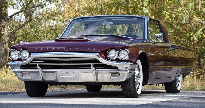 1964 Ford Thunderbird Same Family Since New With Images