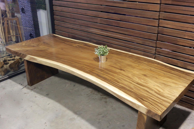 Suar Wood Table Wooden Legs X Herman Furniture Singapore