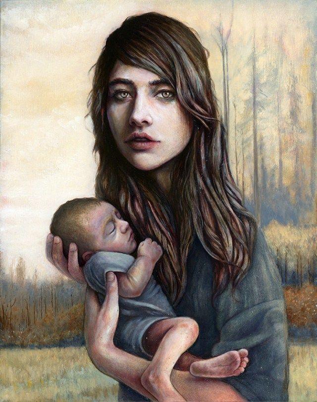 michael-shapcott-retratos melancólicos 5