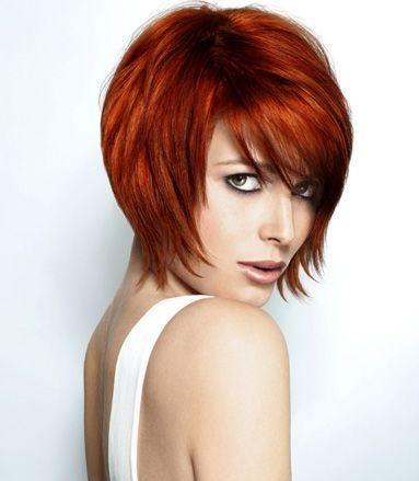 Des coupes de cheveux courts pour les femmes aux cheveux for Coupe cheveux roux