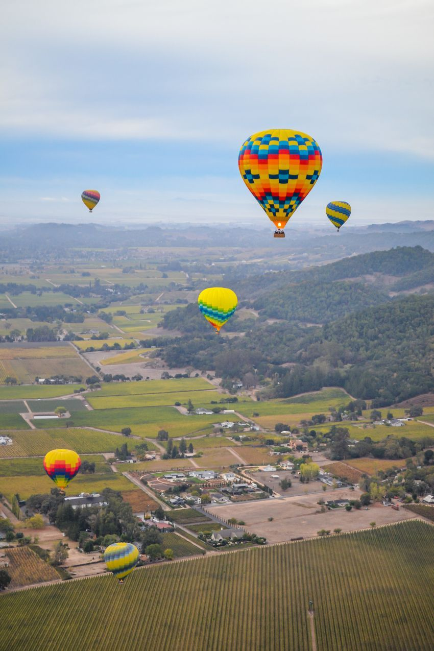 Hot Air Balloon in Napa Valley What to Expect Air