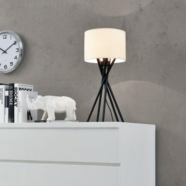 [luxo] Elegante Tischlampe Mikado 1 x E14 Sockel Schlafzimmer