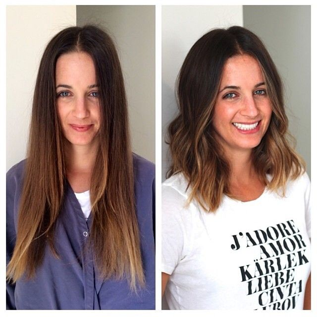 15 Hair Transformations That Made Their Owners Shine With Happiness Hair Styles Long Bob Hairstyles For Thick Hair Thick Hair Styles