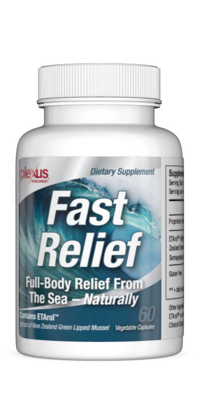 For long-term relief you will want to take the Fast Relief™ Capsules. Day after day, you will notice your discomfort becoming less and less. That's all there is to this amazing Relief System, take the Fast Relief™ Cream for immediate and Fast Relief™ Capsules for long-term.