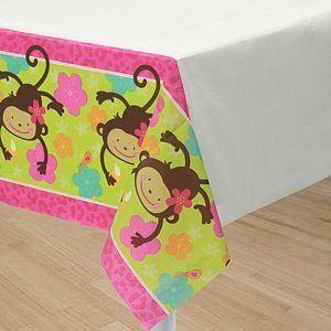Monkey Love Tablecover by AMSCAN *  $7 12  Monkey Love  Kids