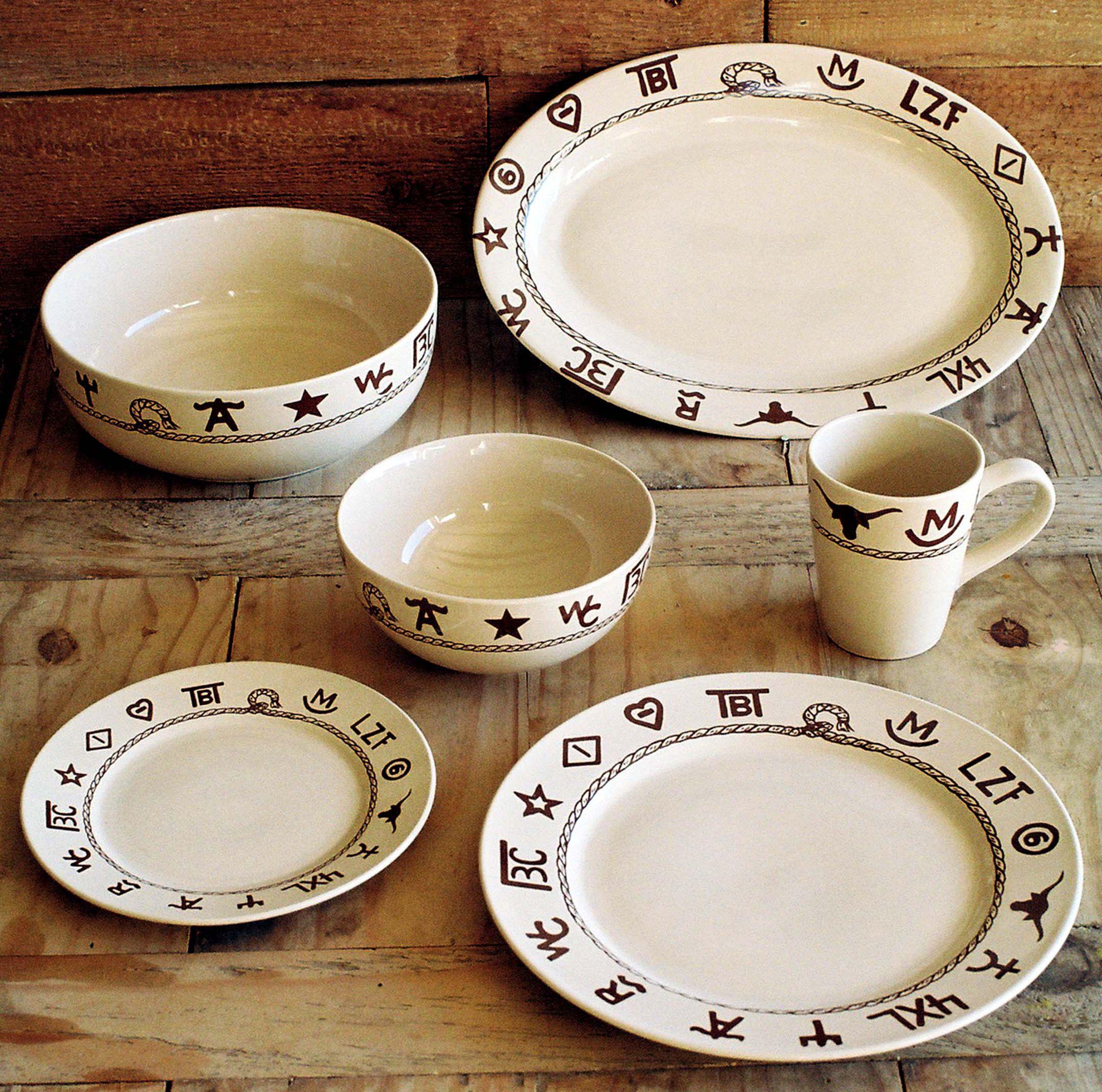 Western Dinnerware Dishware Goblets Branded Dinnerware Dining