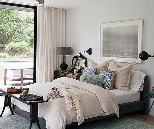 Hamptons Inspired Luxury Home Master Bedroom Robeson: Hamptons Style Bedrooms, Hamptons