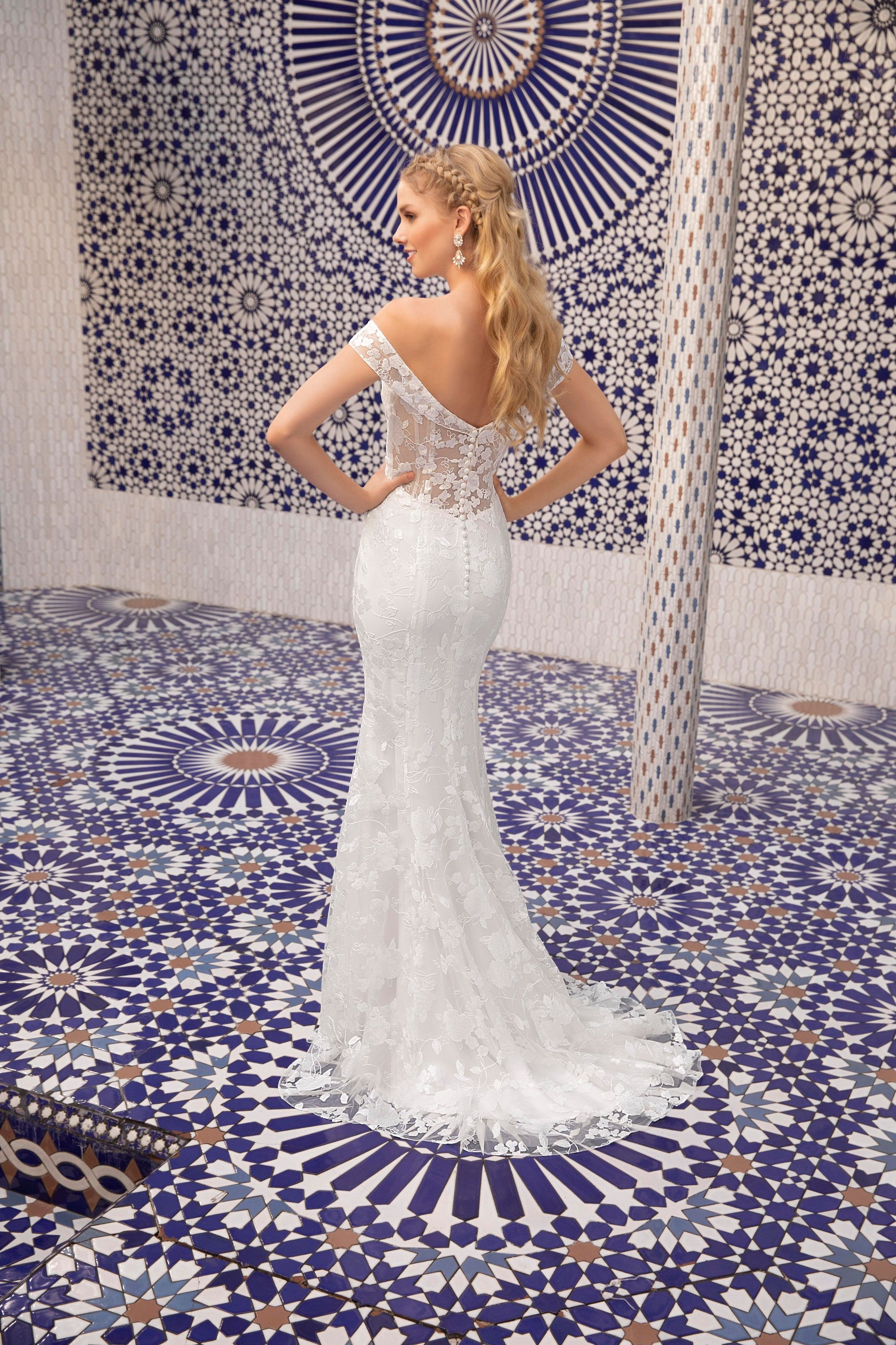Layla From Beloved By Casablanca Bridal Is A Modern Glam