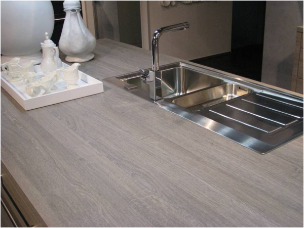 Grey Countertops küchenmeile gray wood resized 600 -- laminate countertop | new