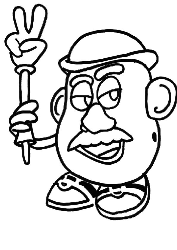Top 20 Toy Story Coloring Pages For Your Little Kid Rajzok
