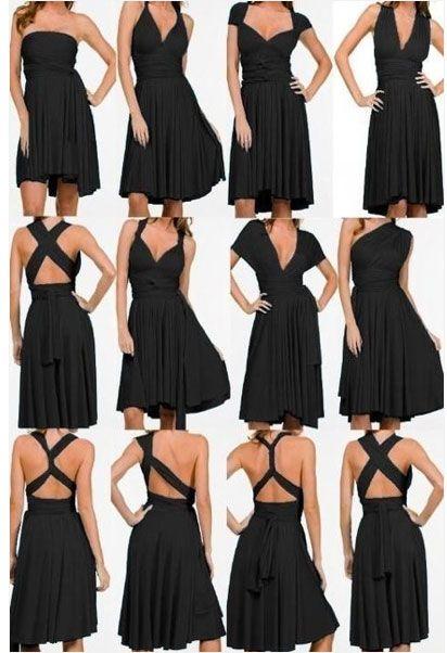 Multiple styles, could be chiffon. | Inspiración para bodas ...