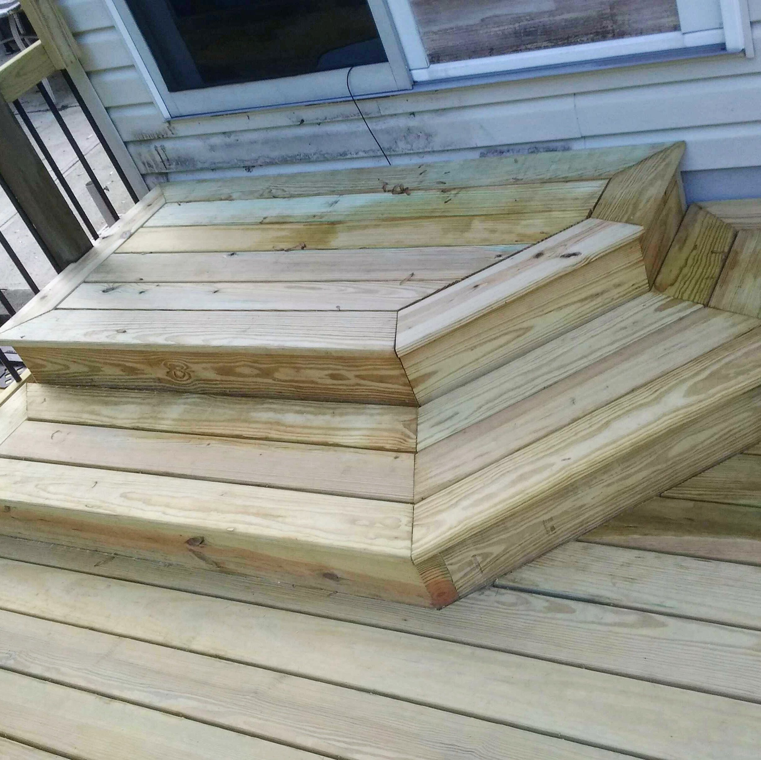 Best Unique Stairs For Decking Small Deck Designs Deck Design Deck Stairs 640 x 480